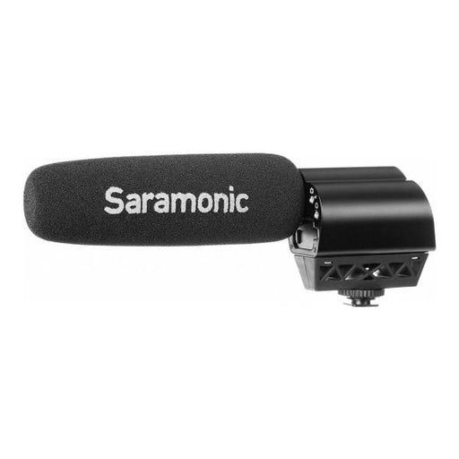 Saramonic Vmic Video Microphone with head phone monitoring - Broadcast Lighting