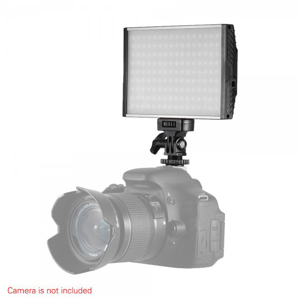 Tolifo PT-15 Bi-Color LED On Camera Light Kit A - Broadcast Lighting