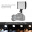 Tolifo PT-15 Bi-Color LED On Camera Light Kit B - Broadcast Lighting