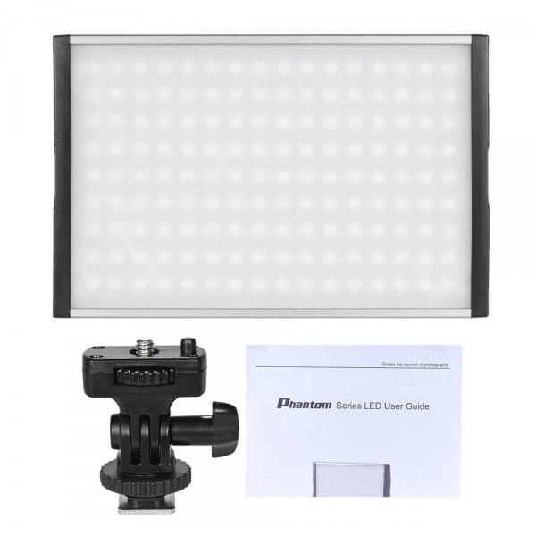Tolifo PT-15 Bi-Colour LED Light with Power Supply - Broadcast Lighting