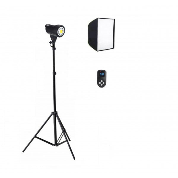 Tornado 60w LED Soft Box Kit A - Broadcast Lighting