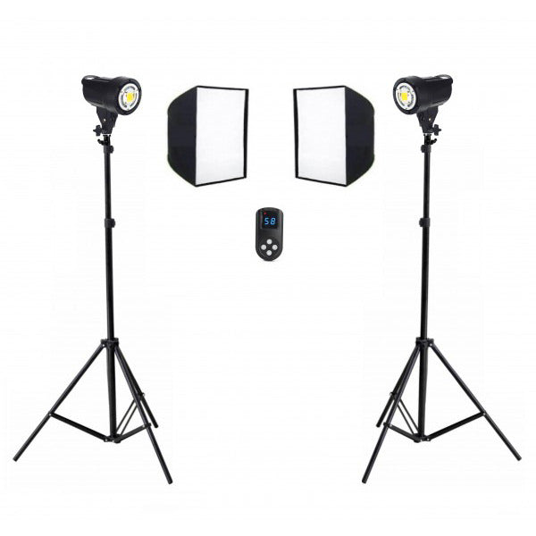 Tornado 60w LED Soft Box Kit B