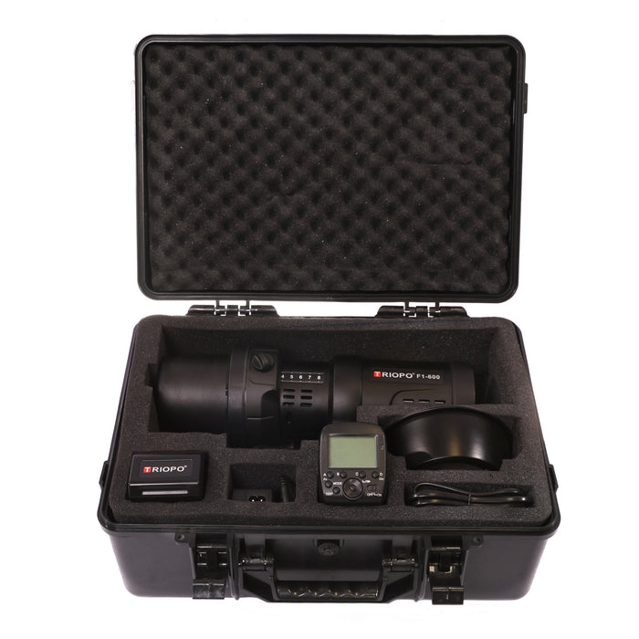 Triopo F1-600W Dual TTL Outdoor Flash Strobe - Broadcast Lighting