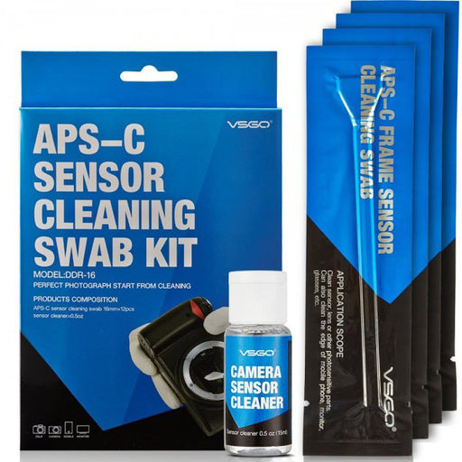 VSGO APS-C Frame (CCD/CMOS) Digital Camera Sensor Cleaning Kit - Broadcast Lighting