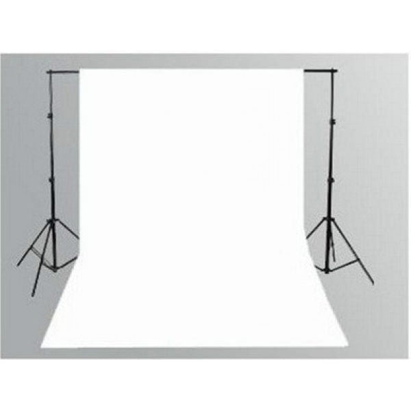 White Muslin & Backdrop Support Stand Kit - Broadcast Lighting