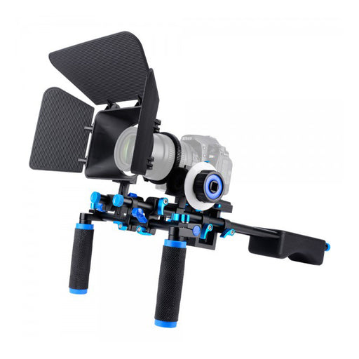 Yelangu Professional DSLR Shoulder Rig Mount Kit - Broadcast Lighting