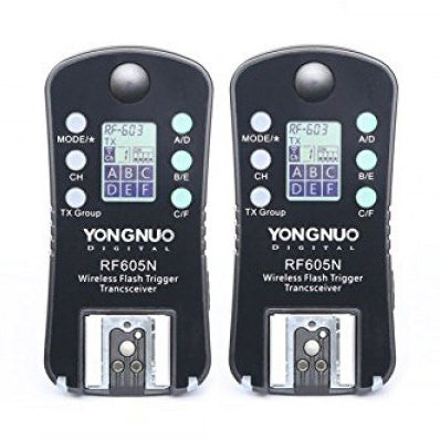 Yongnuo RF-605 N Wireless Flash Trigger for Nikon - Broadcast Lighting