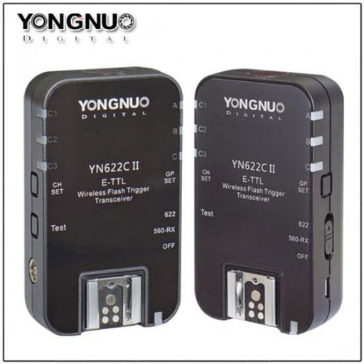 Yongnuo YN622II C Wireless Flash Trigger for Canon - Broadcast Lighting