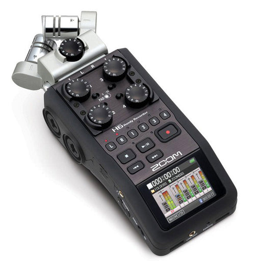 Zoom H6 Handy Sound Recorder - Broadcast Lighting
