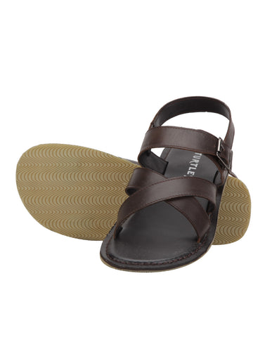 Turtle Brown Sandals
