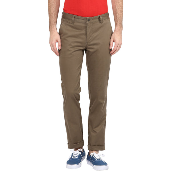 Turtle Cotton Stretch Chino Trousers