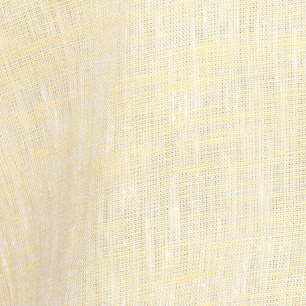Yellow Pure Linen Limited Edition Regular Fit Formal Shirt