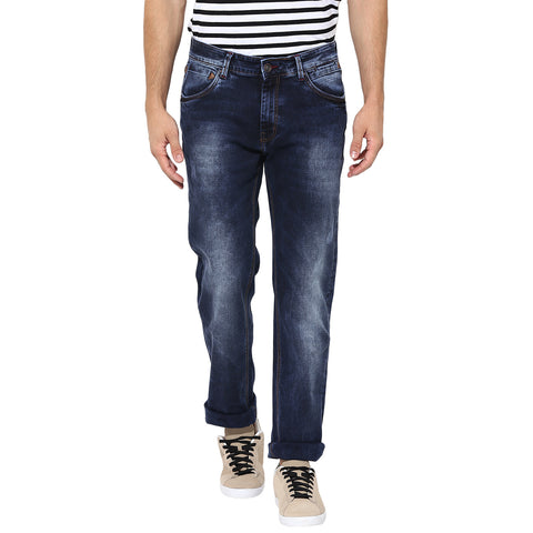 Blue Slim Fit Denims With Stretch