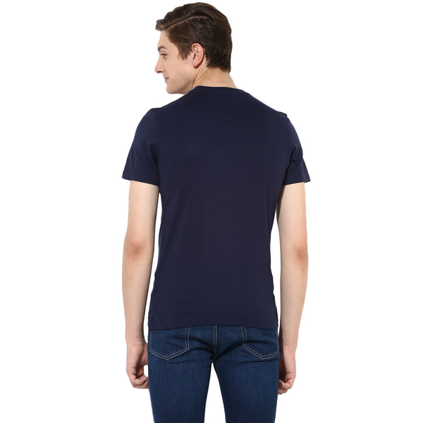 Blue Round Neck T-Shirt
