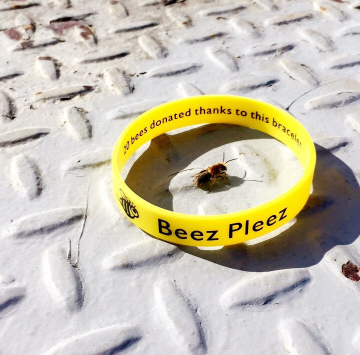 Beez Pleez Awareness Bracelet - 20 Bees Donated!