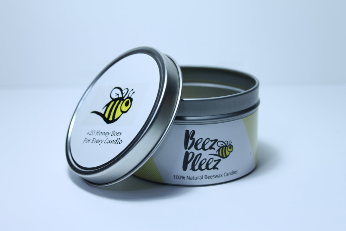 Beeswax Candle for a Cause - Tin