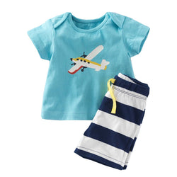 T-Shirt & Shorts Sets 100% Cotton