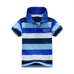 Striped Polo Shirt 100% Cotton