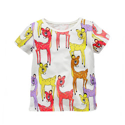 Cute Animal Print T-Shirts