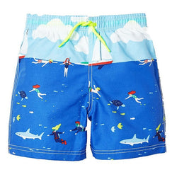 Beach & Dinosaur Shorts