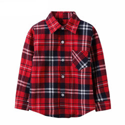 Plaid Shirt 100% Cotton