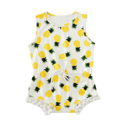Pineapple Printed Bodysuit