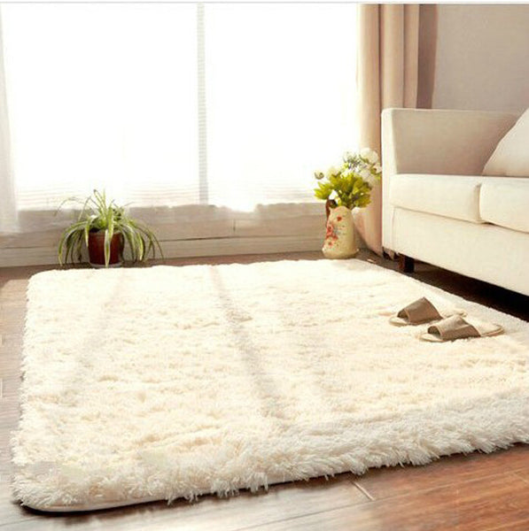 Hot Sale Flokati Shaggy Seatmat Carpet