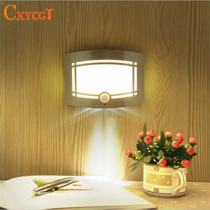 Wireless Infrared Motion Sensor Wall LED Night Light