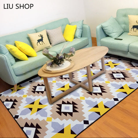 Simple modern fashion Nordic living room carpet