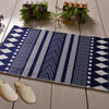 Vintage Geometric Striped Carpet