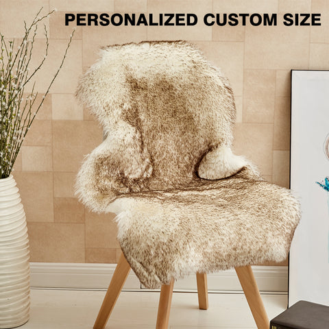 Living room Carpet Sheepskin Covers
