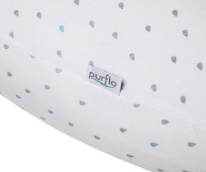 purflo Cool Comfort Pregnancy Pillow Teardrop