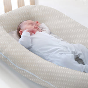 Breathable Baby Nest - Soft Truffle