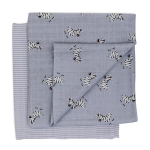 Muslin Set - Ziggy the Zebra