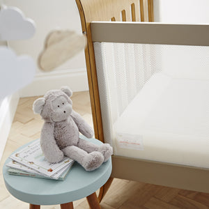 PurAir Convertible Cot Bed Mesh Side
