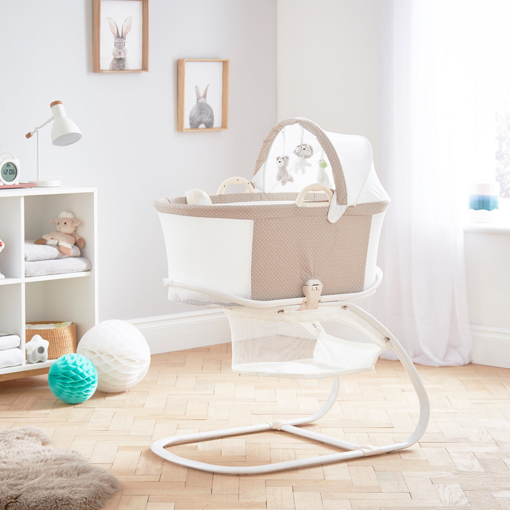 new arrival 3f784 5ce35 PurAir Breathable Bassinet - Soft Truffle