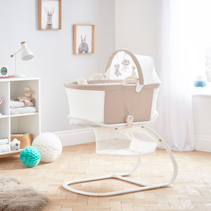 purflo breathable baby bassinet