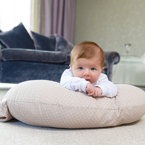 Curve Feeding Cushion - Soft Truffle