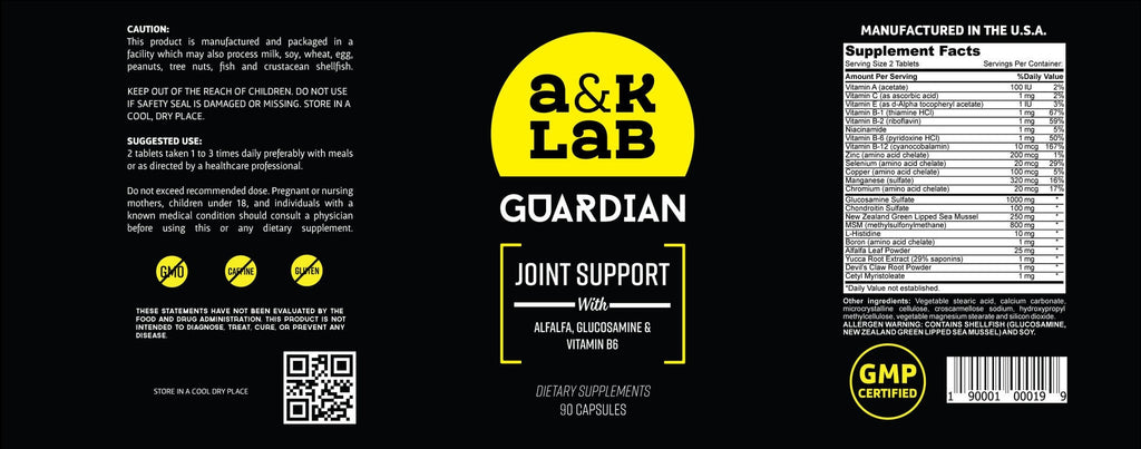 A and K Labs  Supplement A&K's - Guardian