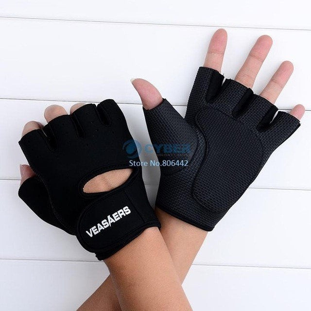A & K Labs  accessories Black M Fitness Gloves