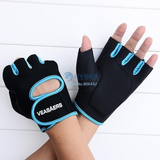 A & K Labs  accessories Blue L Fitness Gloves