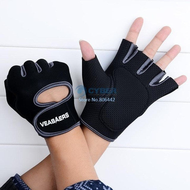 A & K Labs  accessories Gray L Fitness Gloves
