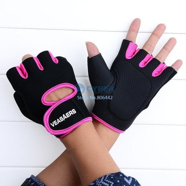 A & K Labs  accessories Rose Red L Fitness Gloves