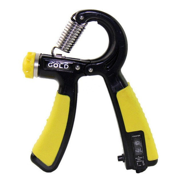 A & K Labs  accessories Yellow High Grade 10-40Kg Wrist Forearm Strength Hand Gripper
