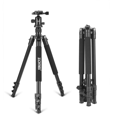 Zomei Q555 professional aluminum flexible camera tripod stand with  ball head for DSLR cameras - Photography Stop Ireland