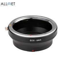 EOS-M4/3 Canon EOS EF Mount Lens To Micro 4/3 Adapter Ring Olympus M43 E-P1/E-P2/E-PL1 and Panasonnic G1/G2/GF1/GH1/GH2 - Photography Stop Ireland