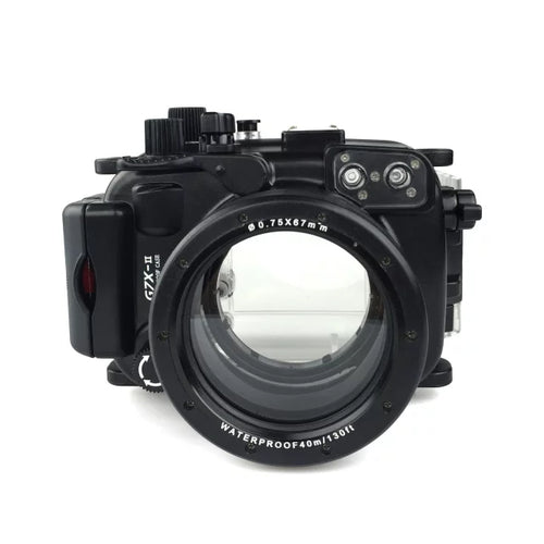 Meikon Waterproof Underwater Housing Camera Diving Case for Canon G7X Mark II WP-DC54 G7X-2 - Photography Stop Ireland
