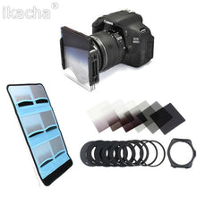 6 filter cokin style ND set with universal lens adapter - Photography Stop Ireland
