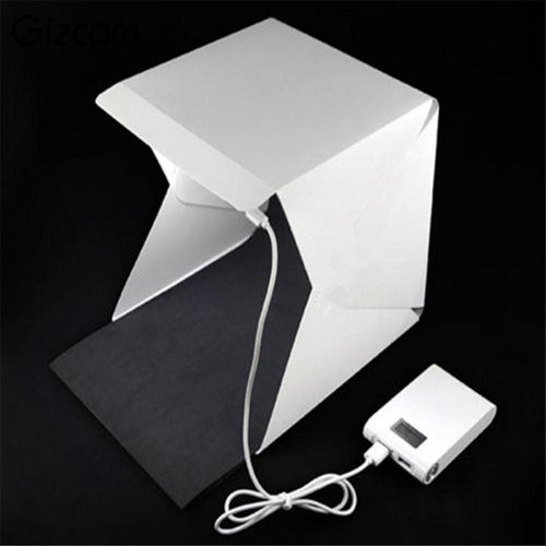 Mini Foldable studio Lightbox LED - Photography Stop Ireland