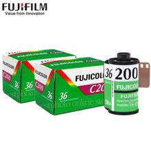2 pc Fujifilm C200 Color 35mm Film 36 Exposure - Photography Stop Ireland